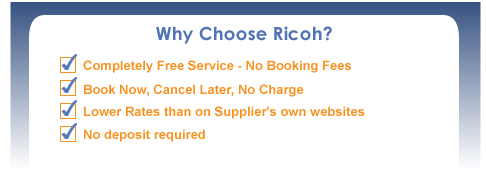 Ricoh Truck Rentals, moving trucks and moving vans for rent.